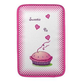 """Rosa 11"""" de la empanada del Sweetie vertical Funda MacBook"""