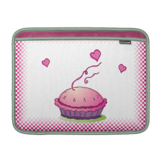 """Rosa 13"""" de la empanada del Sweetie horizontal Funda Macbook Air"""