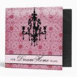 rosa 311-Faded y carpeta de Black Chandelier
