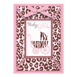 Rosa A2 de la tarjeta del chica del guepardo Comunicados