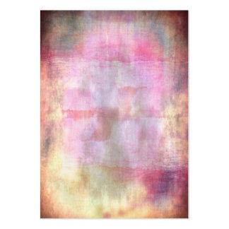Rosa abstracto del grunge con textura de la tarjetas de visita grandes