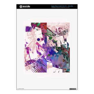 rosa abstracto del wallaper iPad 3 skins
