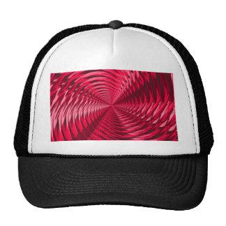 Rosa abstracto gorras