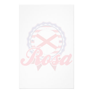 Rosa, AL Personalized Stationery