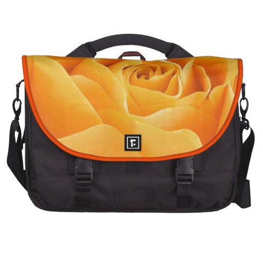 Rosa amarillo bolsas para portatil