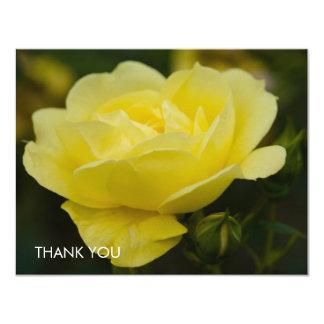 """Rosa amarillo DSC1876 Invitación 4.25"""" X 5.5"""""""