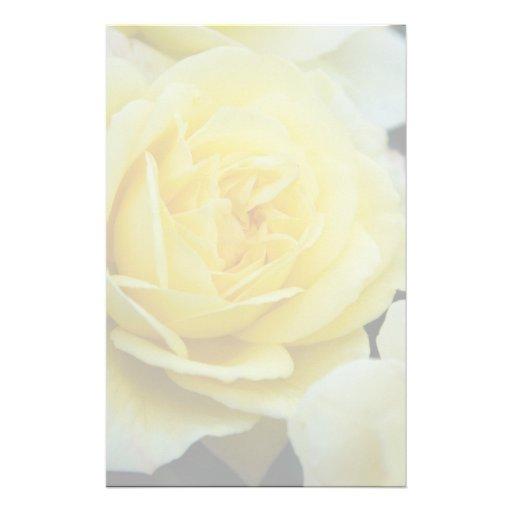 Rosa amarillo DSC3677 Papelería Personalizada