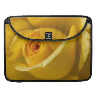 Rosa amarillo macro fundas para macbook pro
