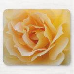 Rosa amarillo Mousepad Alfombrilla De Raton