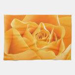 Rosa amarillo toallas de cocina