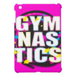 Rosa artístico de la pintura de la gimnasia iPad mini coberturas