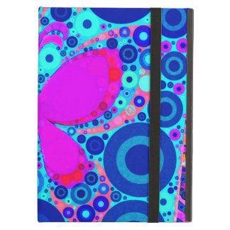 Rosa azul del mosaico del círculo concéntrico de l