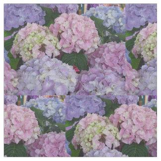 Rosa azul púrpura de Hydrangia Telas