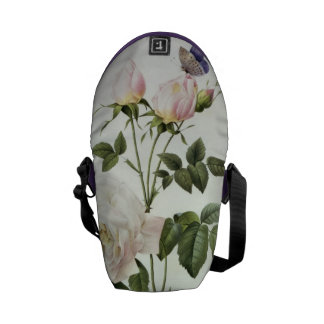Rosa: Bengale the Hymenes, from 'Les Roses' Messenger Bag