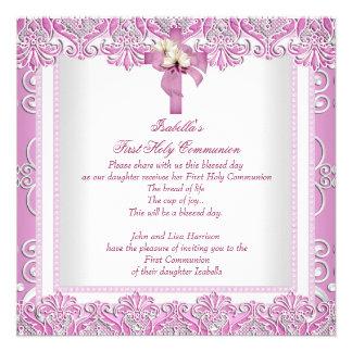 Rosa blanco 5 de los primeros chicas cruzados de l invitacion personal