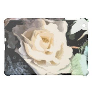 - Rosa blanco abstracto 3961