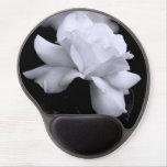 Rosa blanco alfombrilla con gel