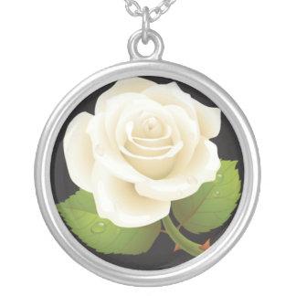 Rosa blanco grimpola personalizada