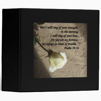 """Rosa blanco del 59:16 del salmo carpeta 2"""""""