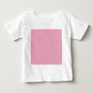 Rosa blanco y oscuro del zigzag - camisas
