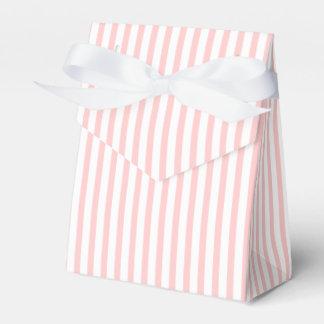 Rosa, boda de encargo blanco del modelo rayado caja para regalos