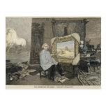 Rosa Bonheur en su estudio Tarjetas Postales