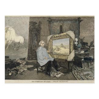 Rosa Bonheur  in her studio Postcard