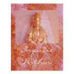 Rosa-Bronce Kwan Yin Posters