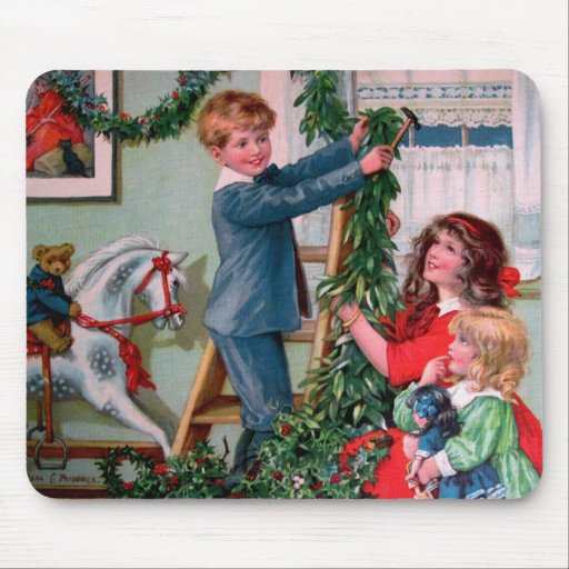 Rosa C. Petherick: Christmas Decorations Mousepads