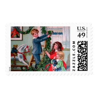 Rosa C. Petherick: Christmas Decorations Postage