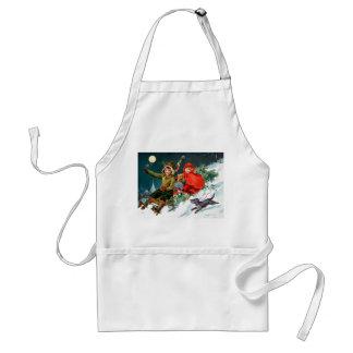 Rosa C. Petherick: Christmas Shopping Adult Apron