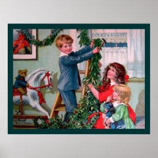 Rosa C. Petherick: Decoraciones del navidad Impresiones