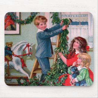 Rosa C. Petherick: Decoraciones del navidad Tapetes De Raton