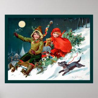 Rosa C. Petherick: El hacer compras del navidad Impresiones