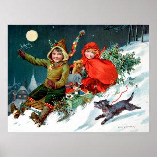 Rosa C. Petherick: El hacer compras del navidad Póster