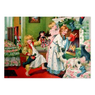 Rosa C. Petherick: El hacer compras del navidad Tarjetas De Visita Grandes