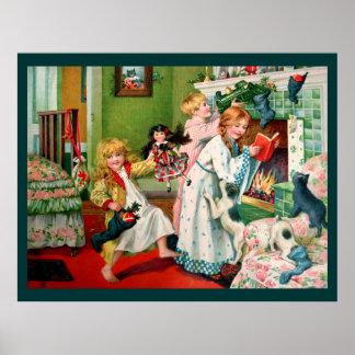 Rosa C. Petherick: Mañana de navidad Impresiones