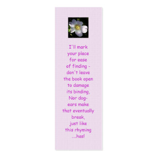 Rosa Canina - Dog Rose Double-Sided Mini Business Cards (Pack Of 20)