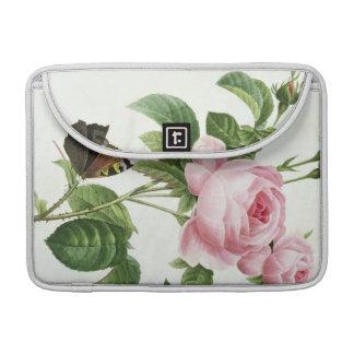 Rosa Centifolia Sleeves For MacBook Pro