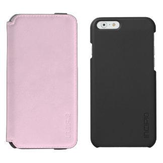 Rosa claro funda billetera para iPhone 6 watson
