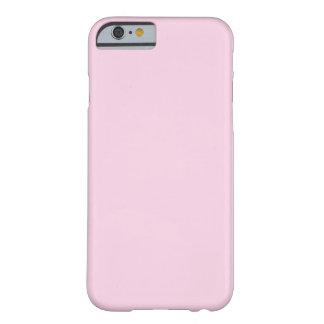 Rosa claro funda de iPhone 6 barely there