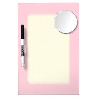 Rosa claro sólido pizarras blancas