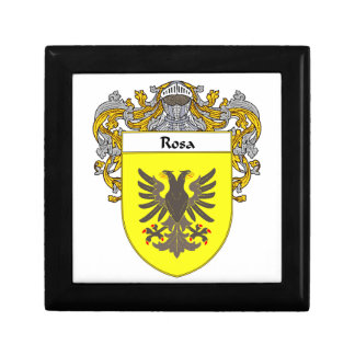 Rosa Coat of Arms/Family Crest Jewelry Box