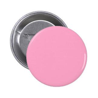 Rosa color de rosa clásico pin redondo 5 cm