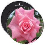 Rosa color de rosa floral pin