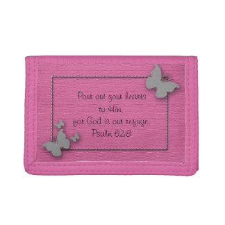 Rosa con la cartera de plata del verso de la bibli