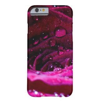 Rosa con Wassertropfen Funda Barely There iPhone 6