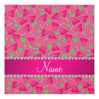 Rosa conocido de encargo en las cales rosadas del cuadro