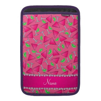 Rosa conocido de encargo en las cales rosadas del fundas MacBook