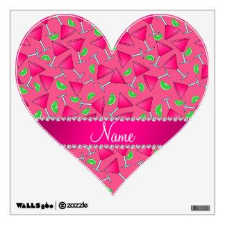 Rosa conocido de encargo en las cales rosadas del vinilo adhesivo